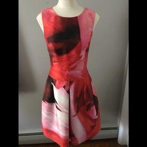 OSCAR DE LA RENTA-Silk Dress